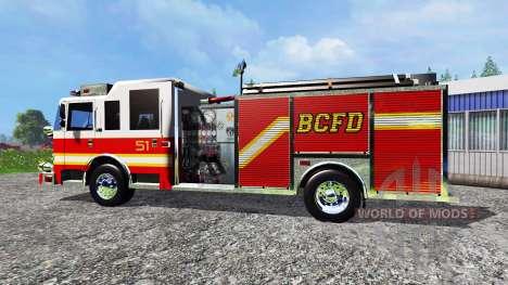 Pierce Arrow XT 2009 BCFD para Farming Simulator 2015