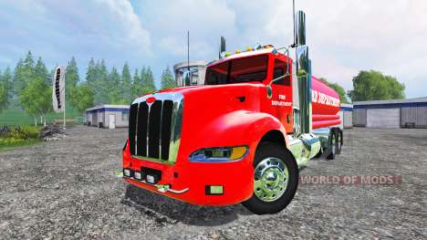Peterbilt 387 Fire Department para Farming Simulator 2015