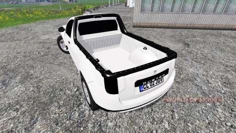Dacia Duster Pickup para Farming Simulator 2015