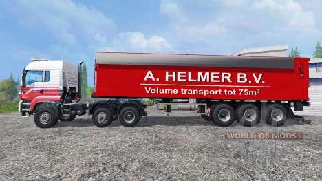 MAN TGS A. Helmer B.V. para Farming Simulator 2015