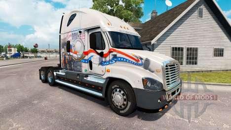 Скин Bay Y la Bahía de POW MIA на Freightliner C para American Truck Simulator