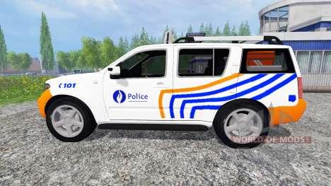 Nissan Pathfinder [federal police] para Farming Simulator 2015