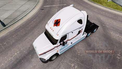 La piel METROPOLITANA de camión Freightliner Cas para American Truck Simulator