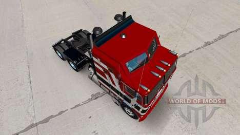 Barón rojo de la piel para Kenworth K100 camión para American Truck Simulator