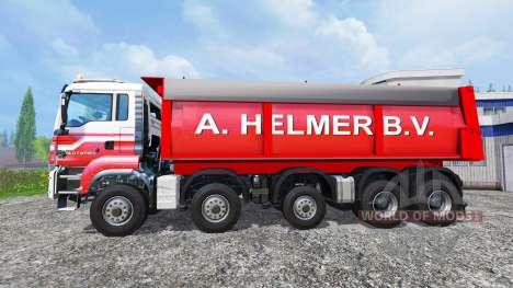 MAN TGS A. Helmer B.V. v1.1 para Farming Simulator 2015