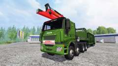 Iveco Stralis [wood chippers] v1.1 para Farming Simulator 2015