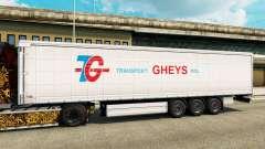 La piel de Transporte Gheys en semi para Euro Truck Simulator 2