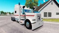 La piel de Nathan T Diácono para el camión Peterbilt 389 para American Truck Simulator