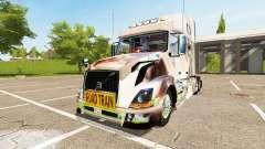 Volvo VNL 780 Pernille Holmboe para Farming Simulator 2017