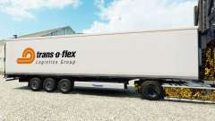 La piel de Trans-o-flex semirremolque refrigerado para Euro Truck Simulator 2