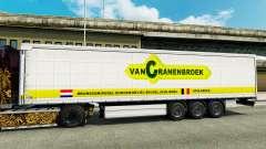 La piel Vancranenbroek para remolques para Euro Truck Simulator 2