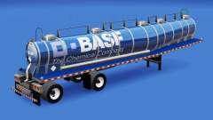La piel de BASF para el tanque de químicos para American Truck Simulator