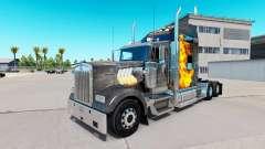 La piel de Mad Max en el camión Kenworth W900 para American Truck Simulator