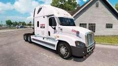 Скин P. A. M. Transporte2 на Freightliner Cascadia para American Truck Simulator