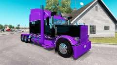 Inspirada en las carreras de la piel para el camión Peterbilt 389 para American Truck Simulator