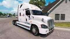 La piel de la Carga en un camión Freightliner Cascadia para American Truck Simulator