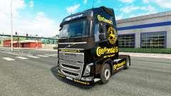 Continental de la piel para camiones Volvo para Euro Truck Simulator 2