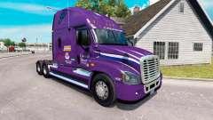 Скин Pacto de Transporte на Freightliner Cascadia para American Truck Simulator