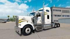 La piel de Walmart en el camión Kenworth W900 para American Truck Simulator