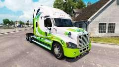 La piel HÍBRIDO tractor Freightliner Cascadia para American Truck Simulator