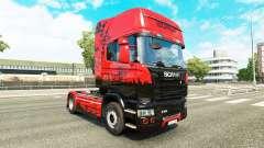 La piel de Estambul para tractor Scania para Euro Truck Simulator 2