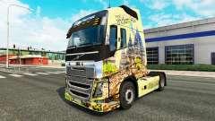 Indonesia piel para camiones Volvo para Euro Truck Simulator 2