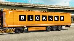 La piel Blokker es un semi para Euro Truck Simulator 2