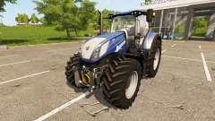 New Holland T7.270 Heavy Duty Blue Power para Farming Simulator 2017
