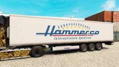 La piel de Martillo para la semi-refrigerados para Euro Truck Simulator 2