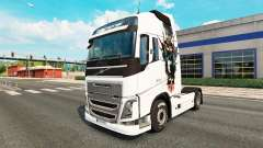 Aníbal de la piel para camiones Volvo para Euro Truck Simulator 2