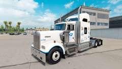 Скин Postal de los Estados unidos на Kenworth W900 para American Truck Simulator