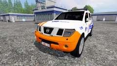Nissan Pathfinder [federal police]