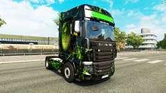 La piel del Monstruo en el tractor Scania R700 para Euro Truck Simulator 2