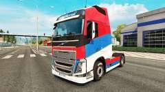 Serbia piel para camiones Volvo para Euro Truck Simulator 2