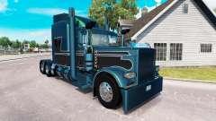 2 Metálico de la piel para el camión Peterbilt 389 para American Truck Simulator