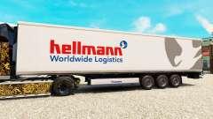 La piel Hellman en el semirremolque-el refrigerador para Euro Truck Simulator 2