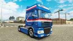 El H. Z. Transporte de la piel para DAF camión para Euro Truck Simulator 2