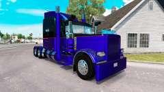 3 Metálicas de la piel para el camión Peterbilt 389 para American Truck Simulator