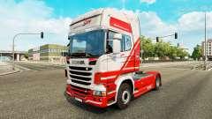 TruckSim de la piel para Scania camión para Euro Truck Simulator 2