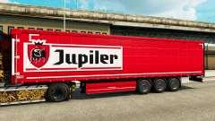La piel Jupiler para remolques para Euro Truck Simulator 2