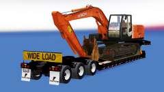 Una colección de trailers con diferentes cargas v1.2 para American Truck Simulator