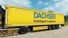 Dachser skin for trailers para Euro Truck Simulator 2