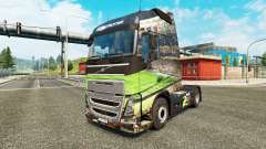 Brasil 2014 en la piel para camiones Volvo para Euro Truck Simulator 2