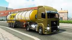 Una colección de camiones de transporte para el tráfico de v1.3 para Euro Truck Simulator 2