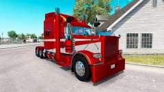 6 Metálico de la piel para el camión Peterbilt 389 para American Truck Simulator