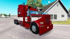 Barón rojo de la piel para el camión Peterbilt 389 para American Truck Simulator