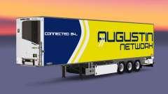 Semi-remolque frigorífico Chereau Augustin de la Red para Euro Truck Simulator 2