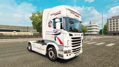 Intermarche de la piel para Scania camión para Euro Truck Simulator 2