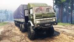 KamAZ-5410 6x6 para Spin Tires