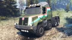 Tatra 163 Jamal 8x8 v8.0 para Spin Tires